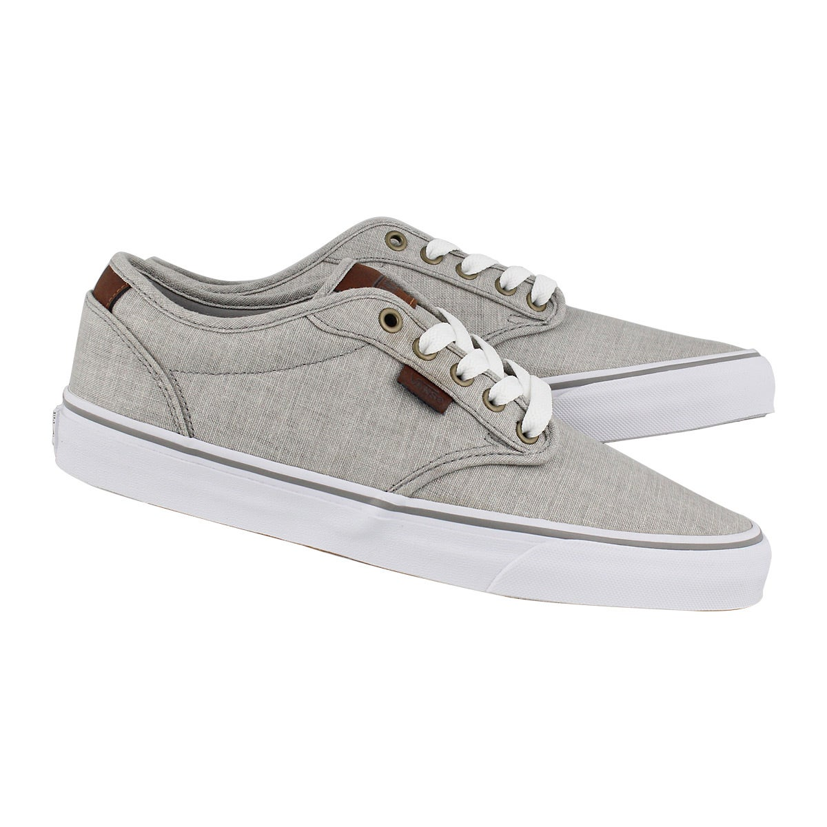 Mns Atwood Deluxe frost grey/wht snkr