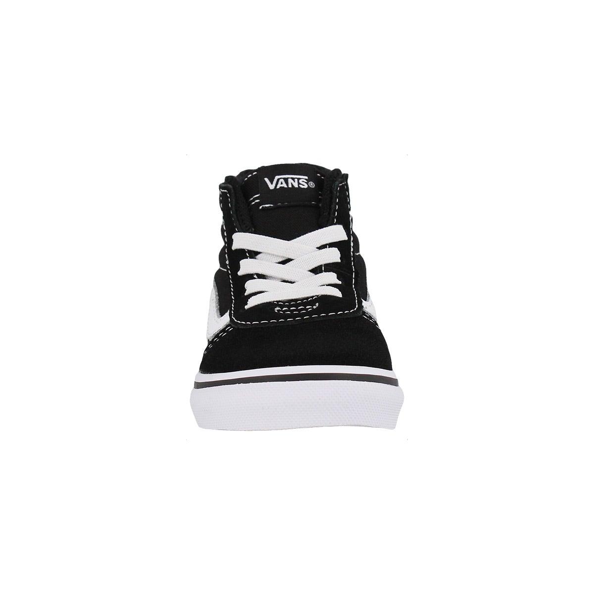 Infs Ward Hi Zip blk/wht cnvs sneaker