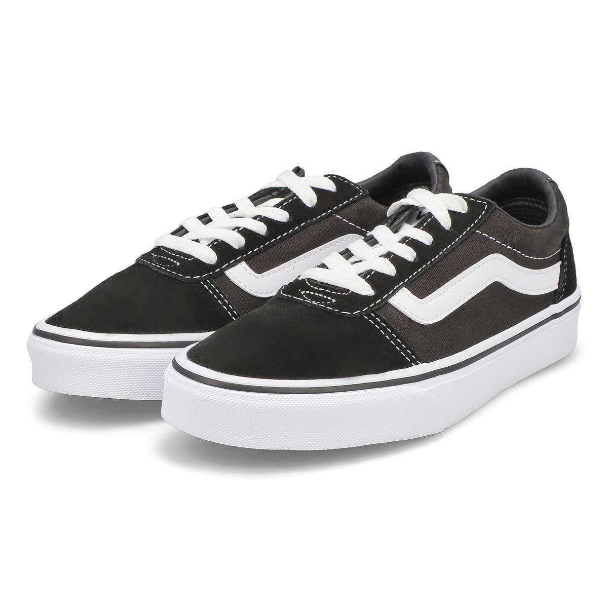 Lds Ward blk/wht lace up sneaker