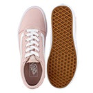 Lds Ward sepia rose lace up snkr