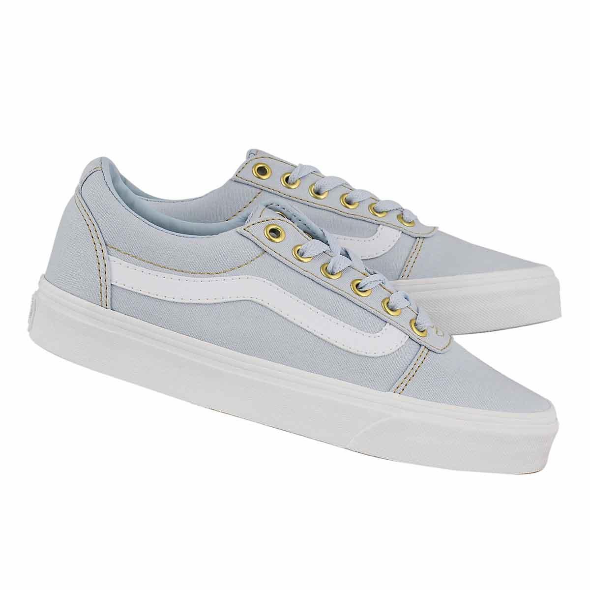 Lds Ward powder blue lace up sneaker