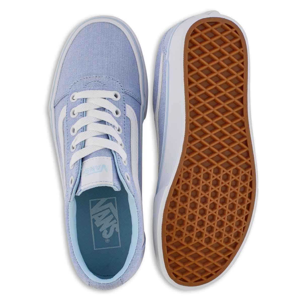 Lds Ward cool blue lace up snkr