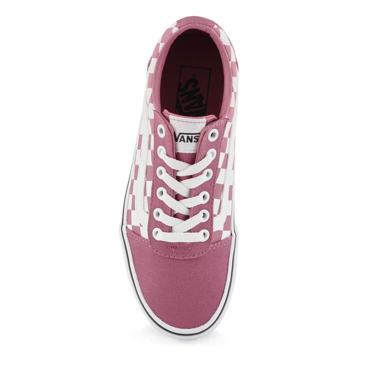 Espadrille lacée Ward, rose/blanc, fem