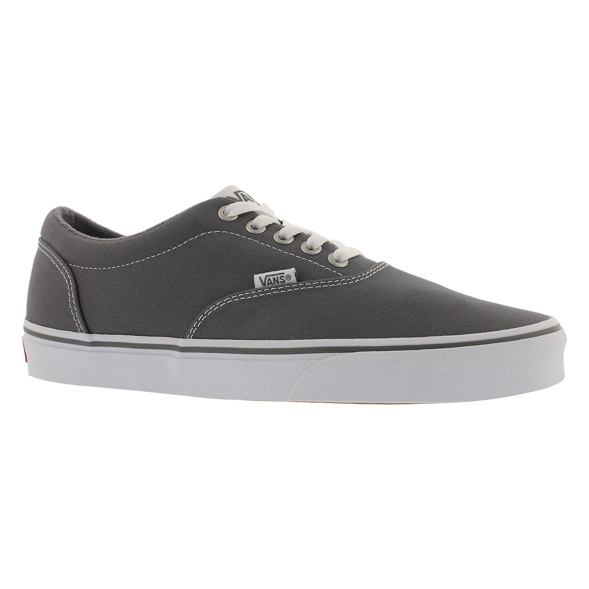 Men's DOHENY pewter/white lace up sneakers