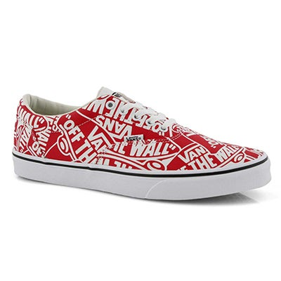 Mns Doheny red/wht OTW lace up sneaker