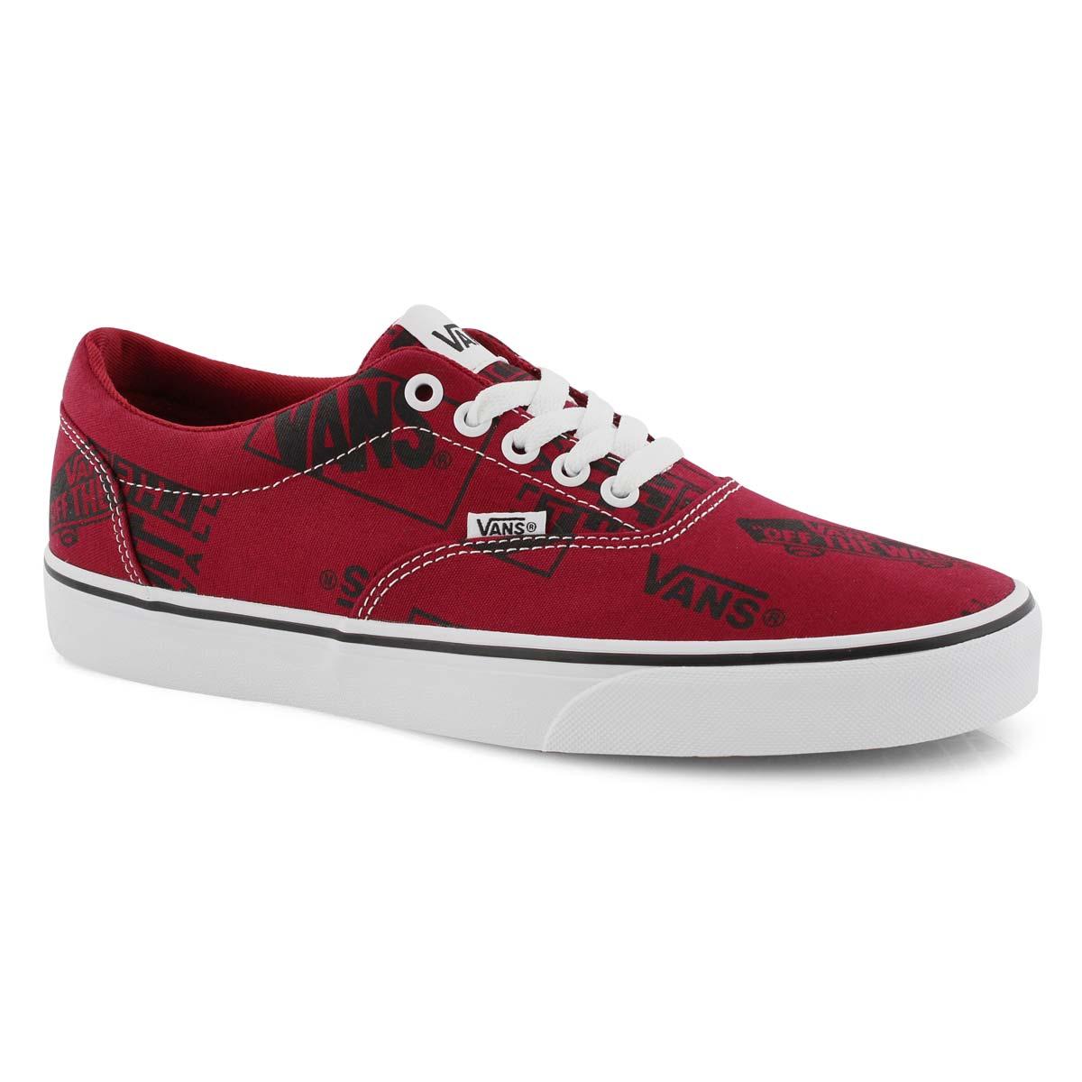 7f540681e9af9 Vans Men s DOHENY red logo mix lace up sneake