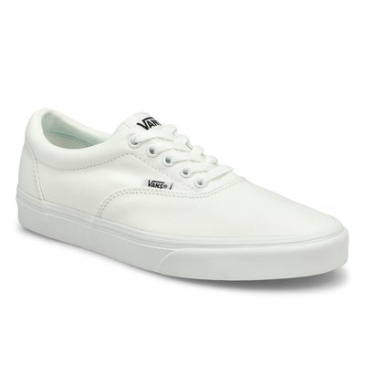Mns Doheny wht/wht lace up snkr