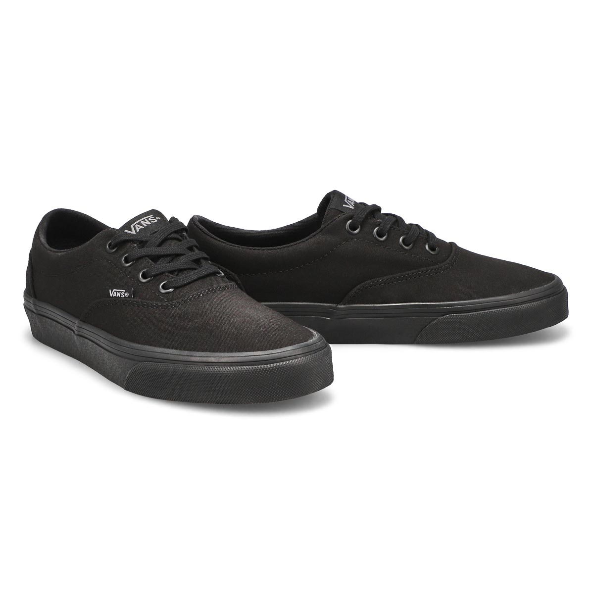 Lds Doheny blk/blk lace up snkr