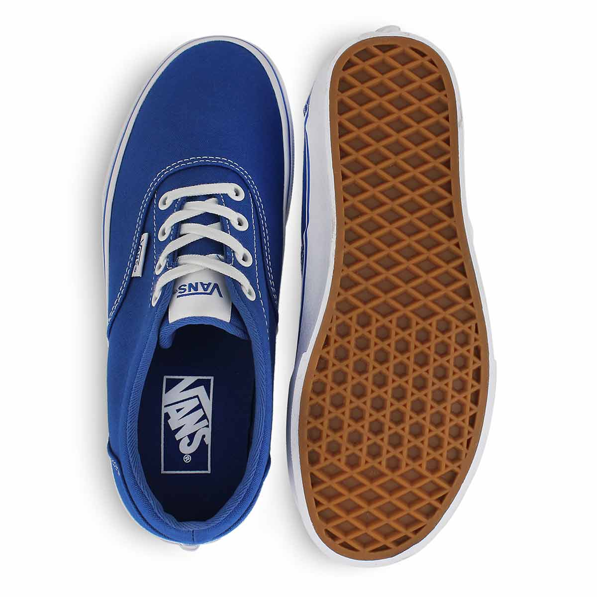 Lds Doheny lapis blue lace up snkr