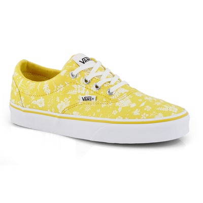 Lds Doheny-Tropics sulphr/wt laceup snkr