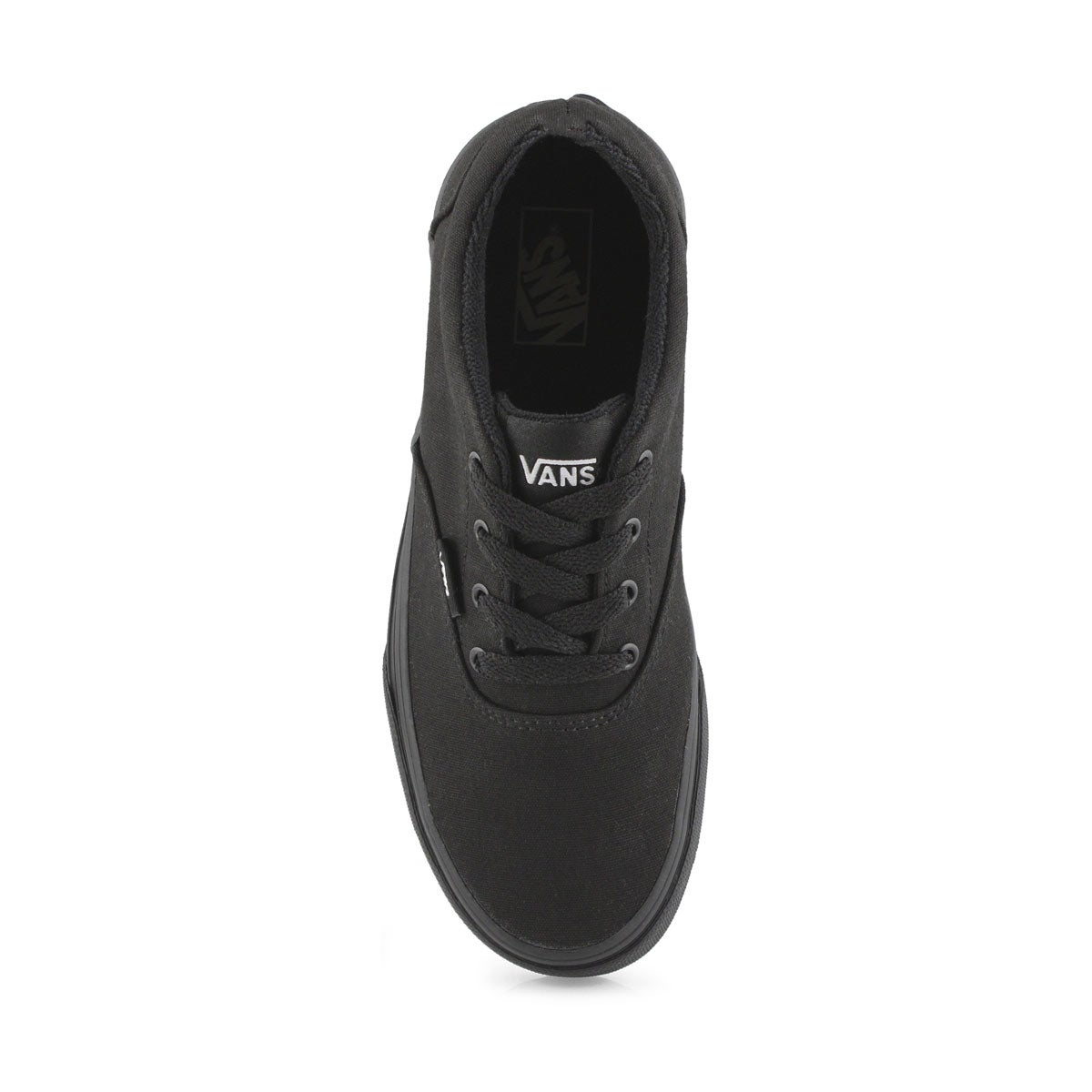 Kds Doheny blk/blk lace up sneaker