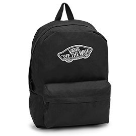 Vans Realm black backpack