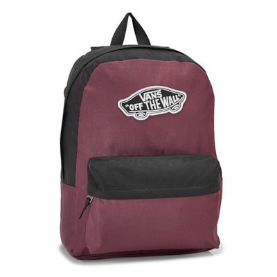 Vans Realm prune/black backpack