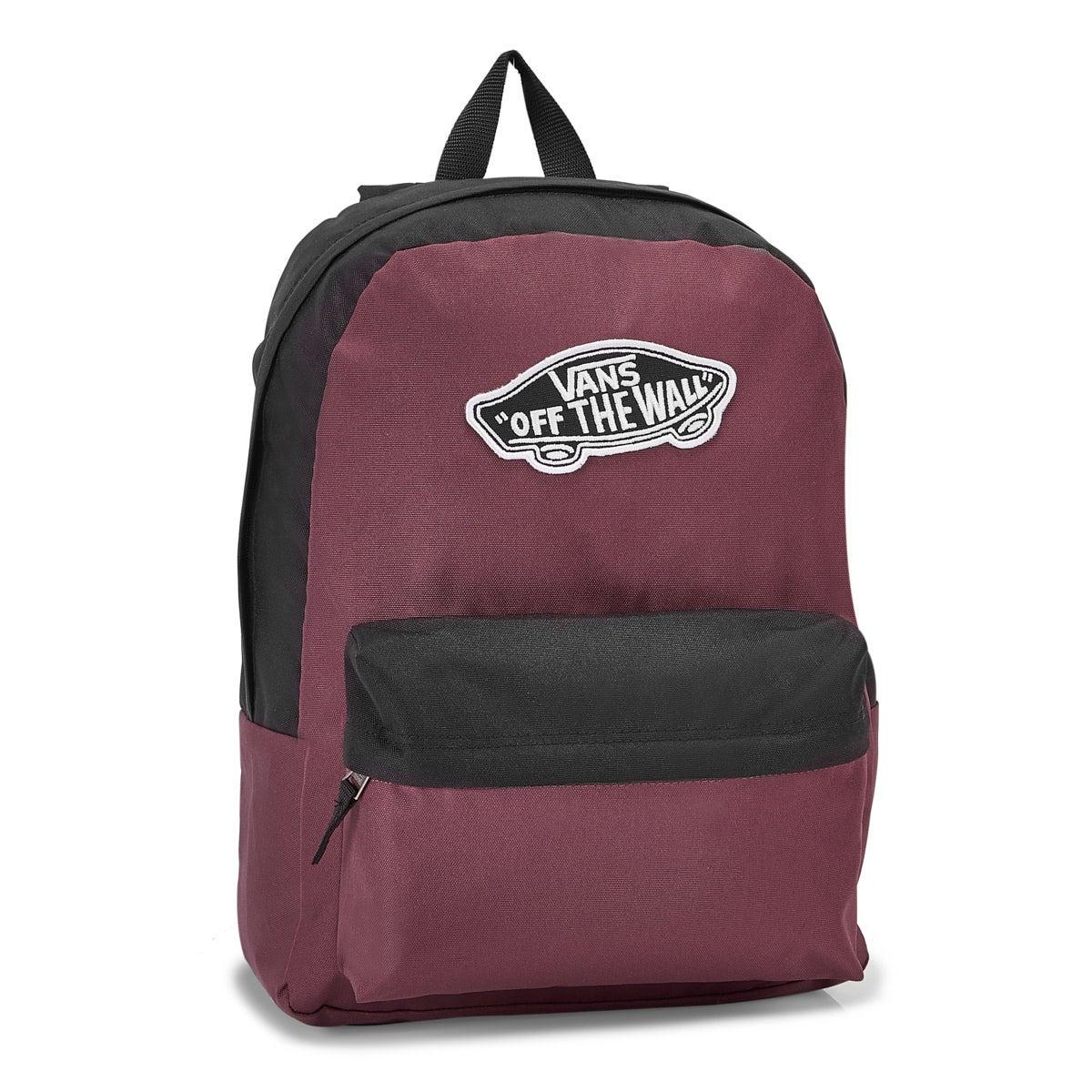Vans Realm prune/black backpack