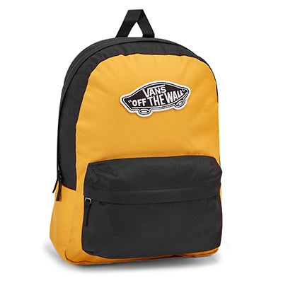 Vans Realm mango mojito/black backpack