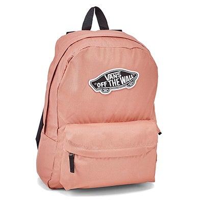 Vans Realm rose dawn backpack