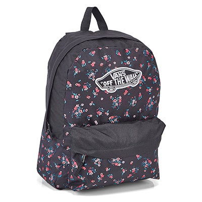 Vans Realm beauty florl blk backpack