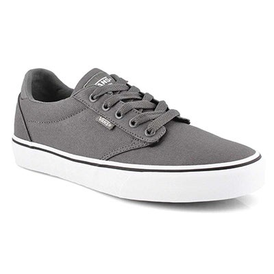 Mns Atwood-Deluxe pewter/wht sneaker