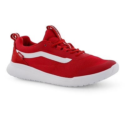 Mns Cerus RW red/wht lace up snkr