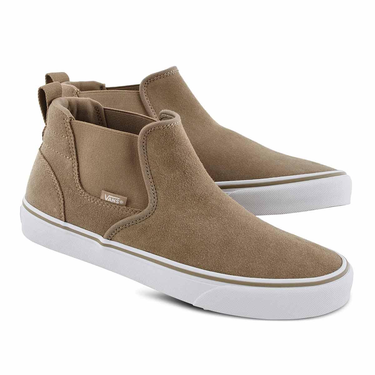 Vans' Men's Asher Mid Slip On Sneaker