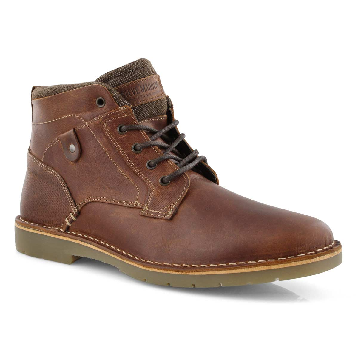 Mns Vulture wood lace up ankle boot