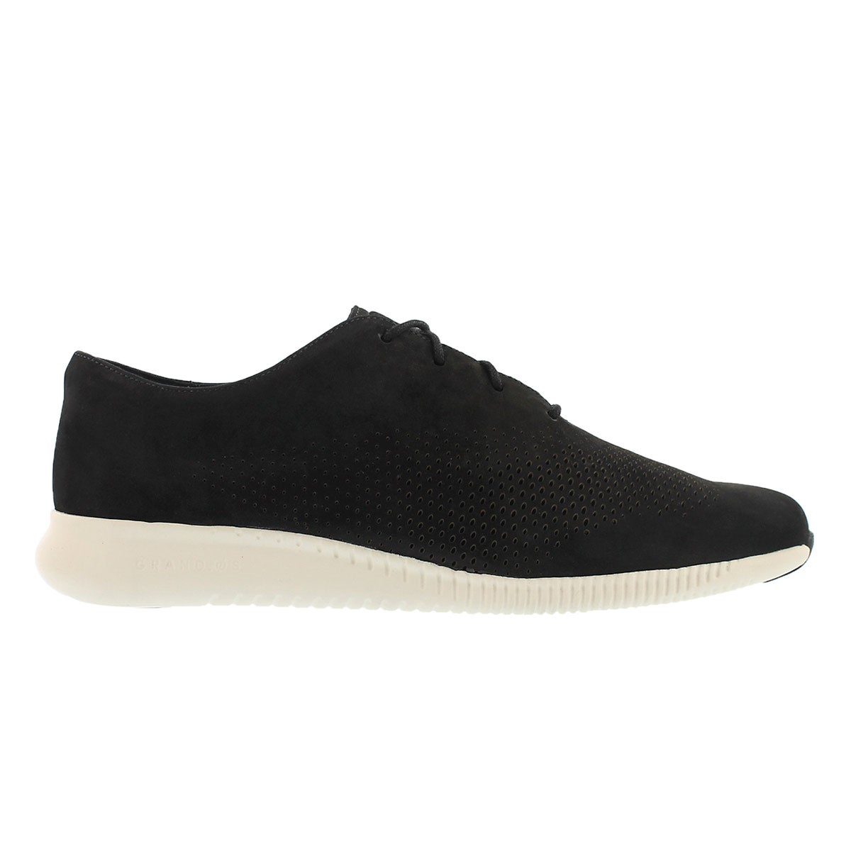 Lds Grand Laser Wing blk casual oxford
