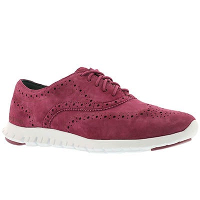 Cole Haan Women's ZEROGRAND WING cabernet oxfords
