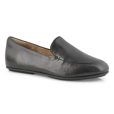 Lds Lena Loafer black casual slip on