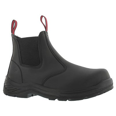 Mns Stud II blk CSA safety chelsea boot
