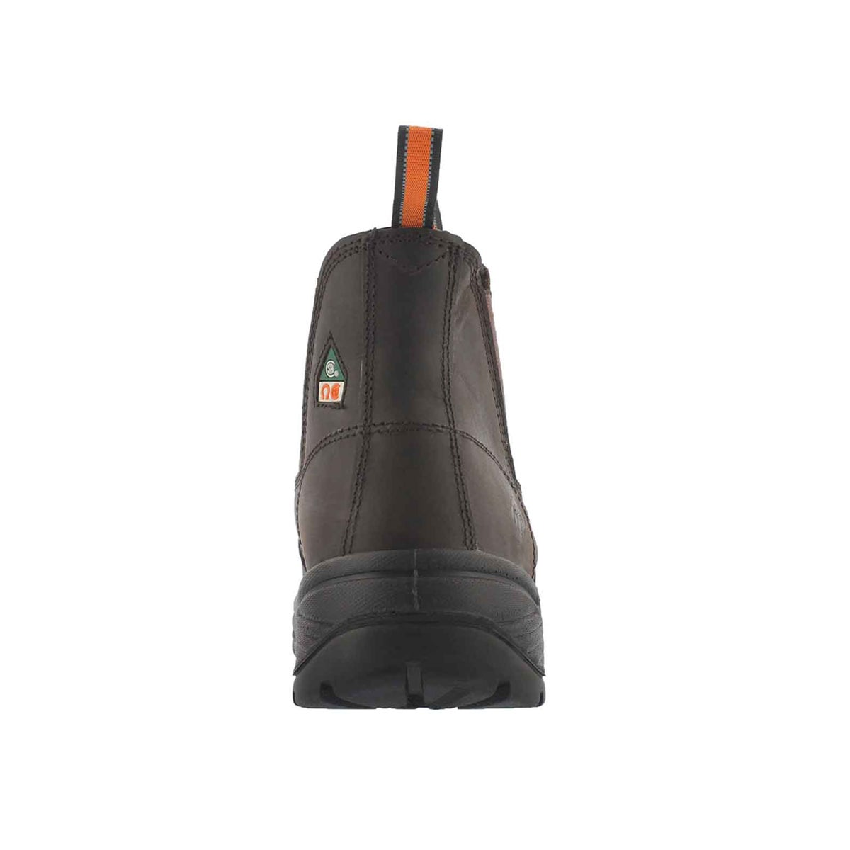 Mns Stud II brn CSA safety chelsea boot