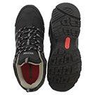 Men's GAZELLE black lace up CSA safety shoes