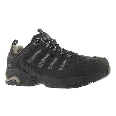 Mns Gazelle blk laceup CSA safety shoe