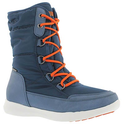 Cougar Women's WAGU blue waterproof lace up winter boots