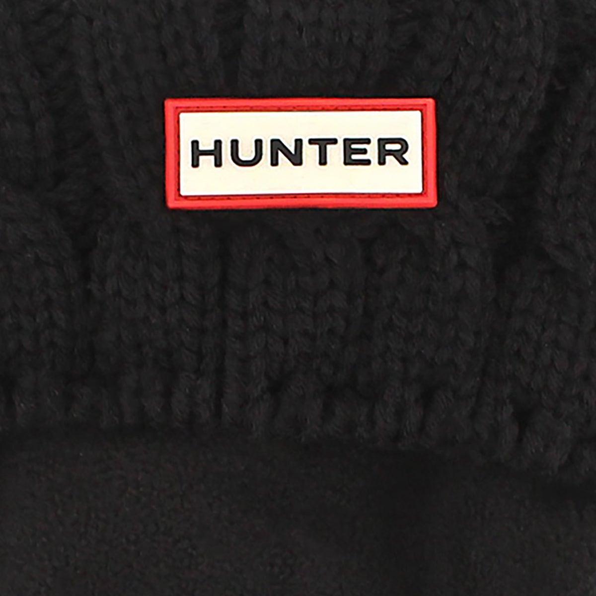 Chaussette 6 Stitch Cable, noir, femmes