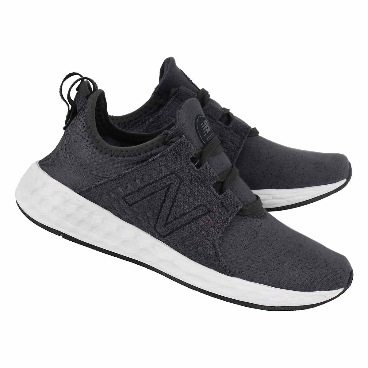 Lds Cruz black/phantom slip-on sneaker