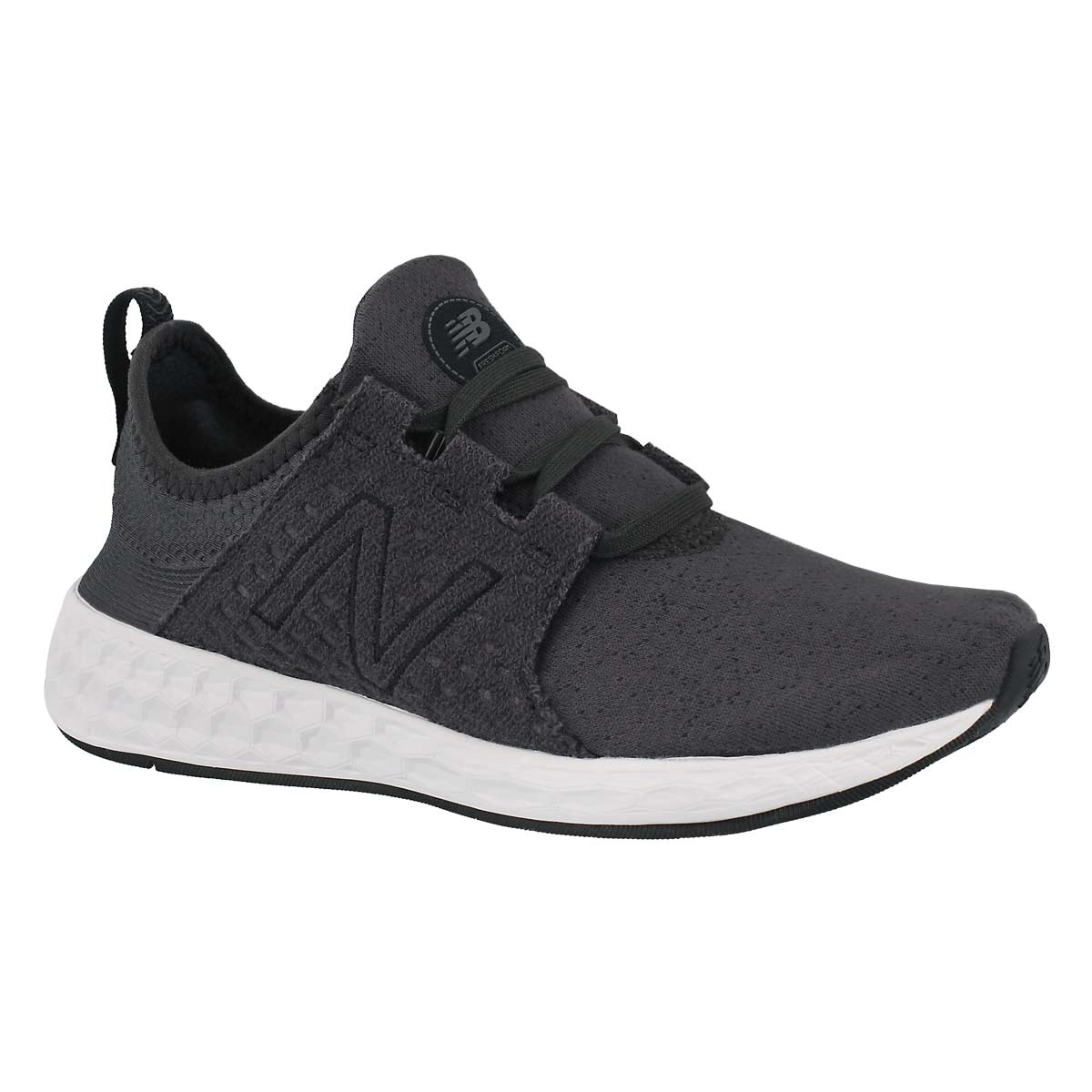 Women's CRUZ black/phantom slip-on sneakers