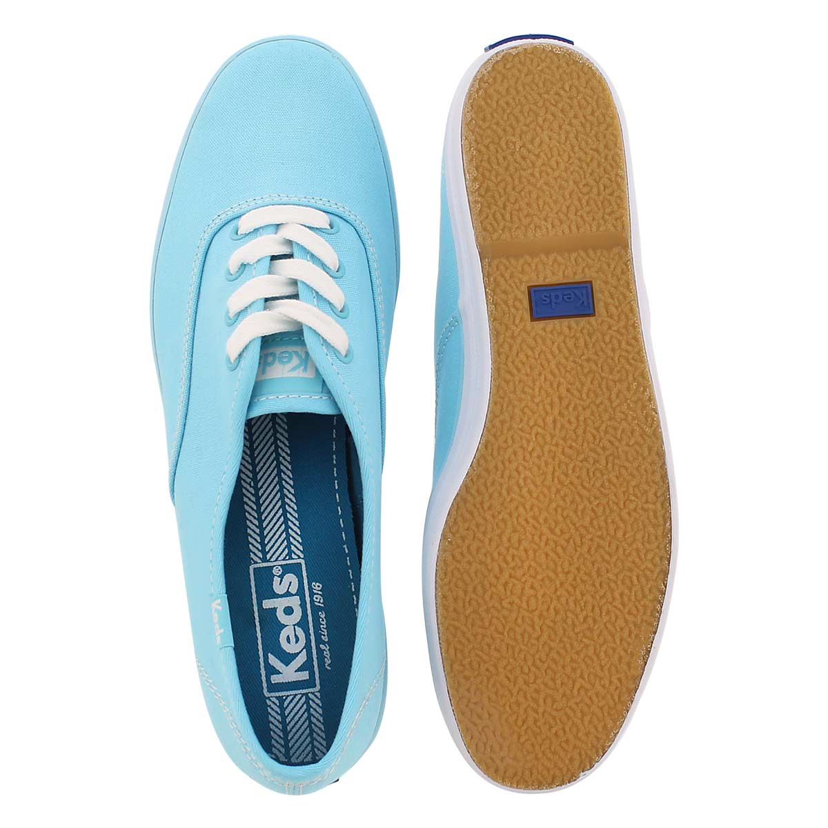 Lds Champion sky blue canvas CVO sneaker