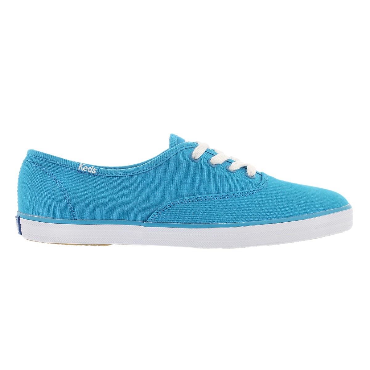 Lds Champion vivid blue canvas sneaker