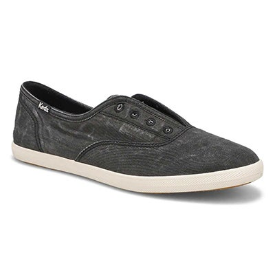 Keds Women's CHILLAX charcoal fashion sneakers