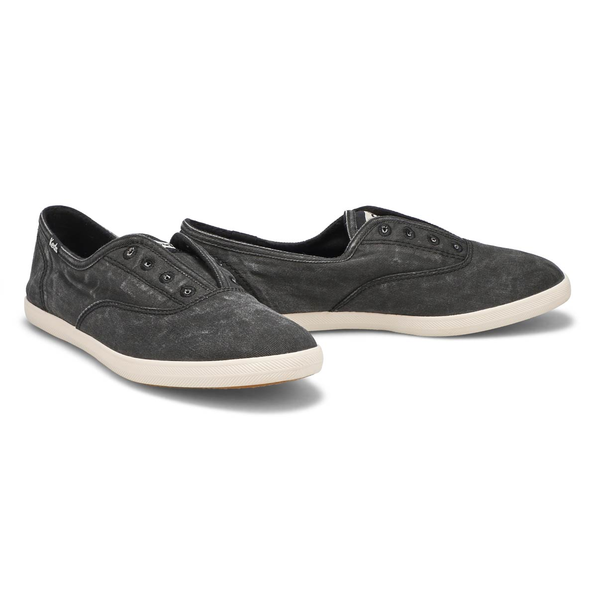 Lds Chillax charcoal fashion sneaker