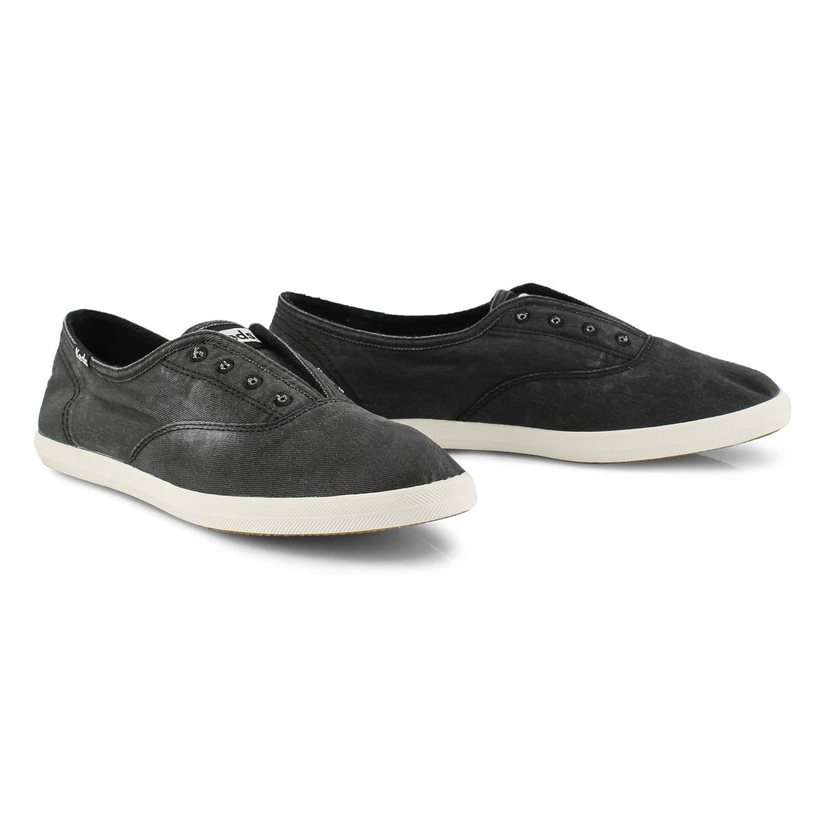 Lds Chillax charcoal fashion sneaker