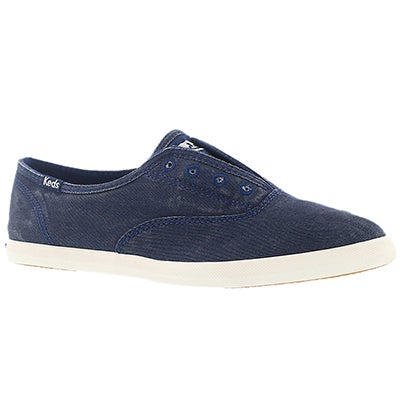 Keds Women's CHILLAX navy fashion sneakers