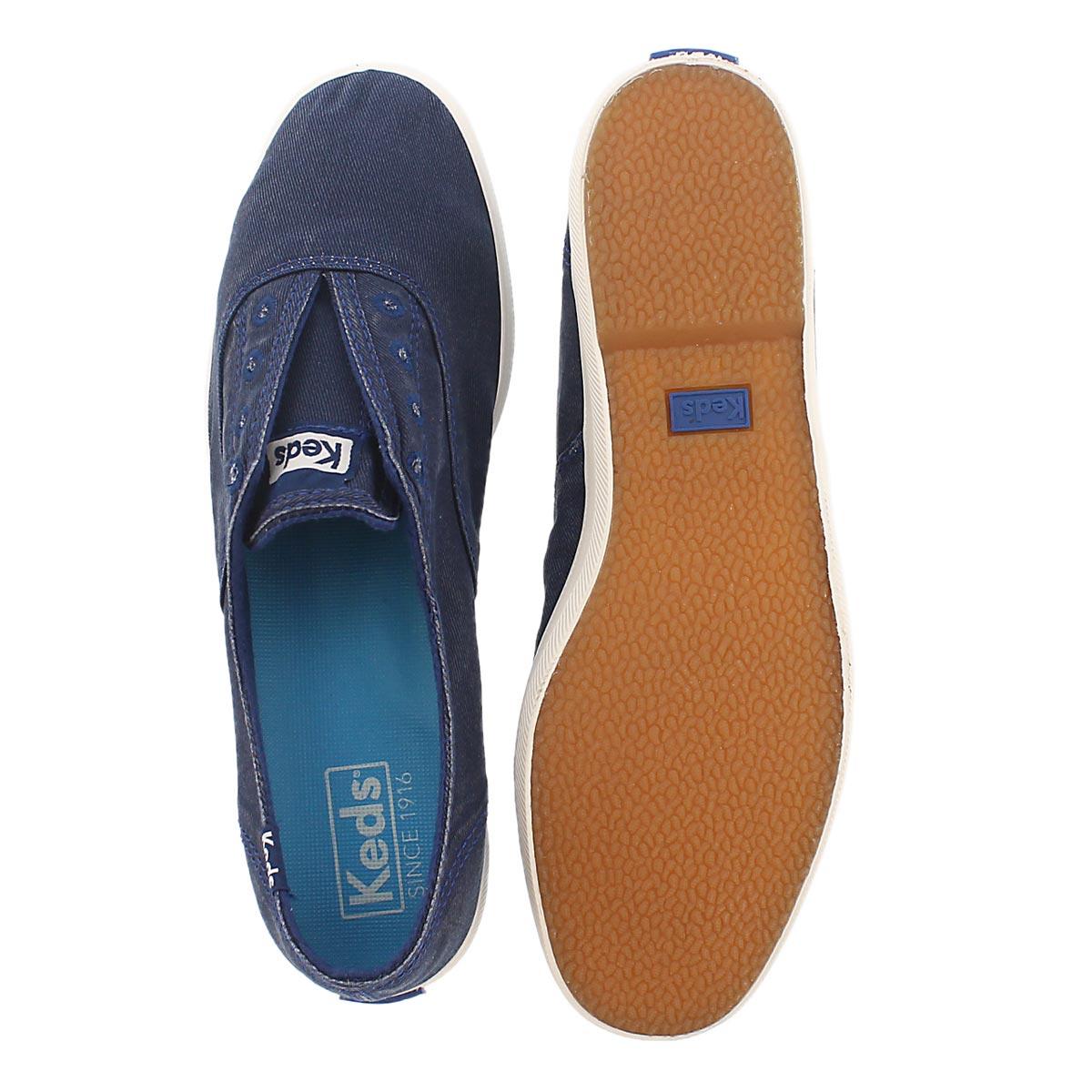 Lds Chillax navy fashion sneaker