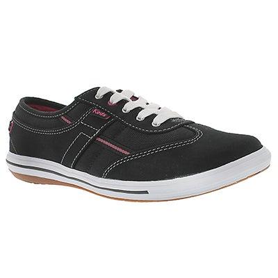 Keds Women's CRAZE T-TOE black sneakers