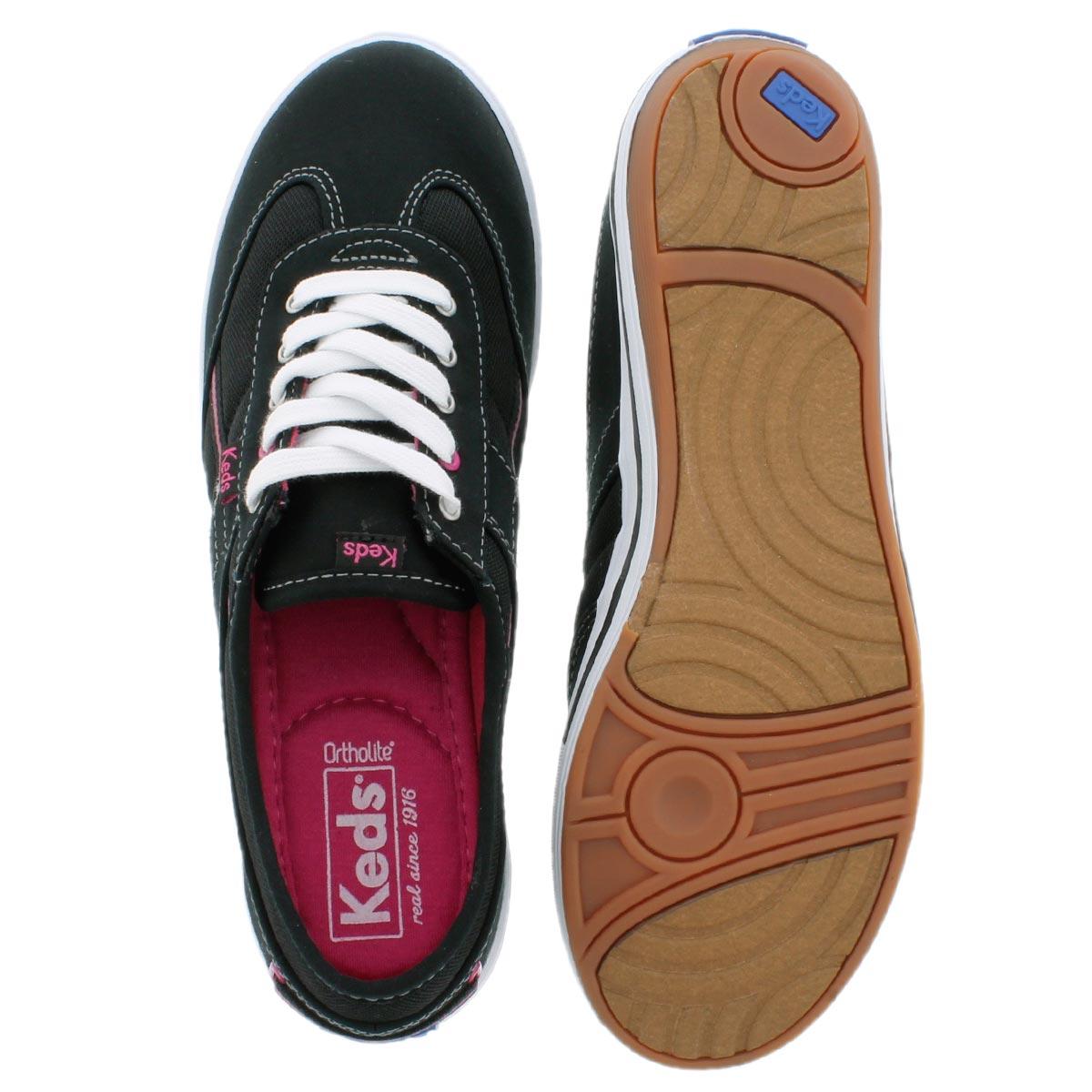 Lds Craze T-Toe black sneaker