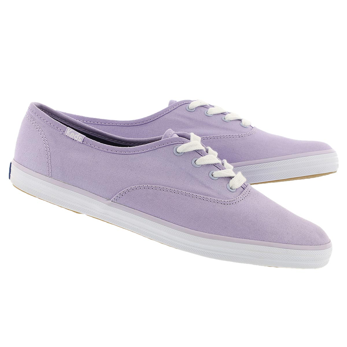 Lds Champion lavender canvas sneaker