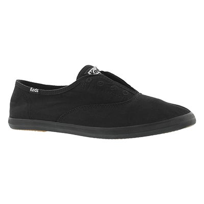 Keds Women's CHILLAX black slip on sneakers