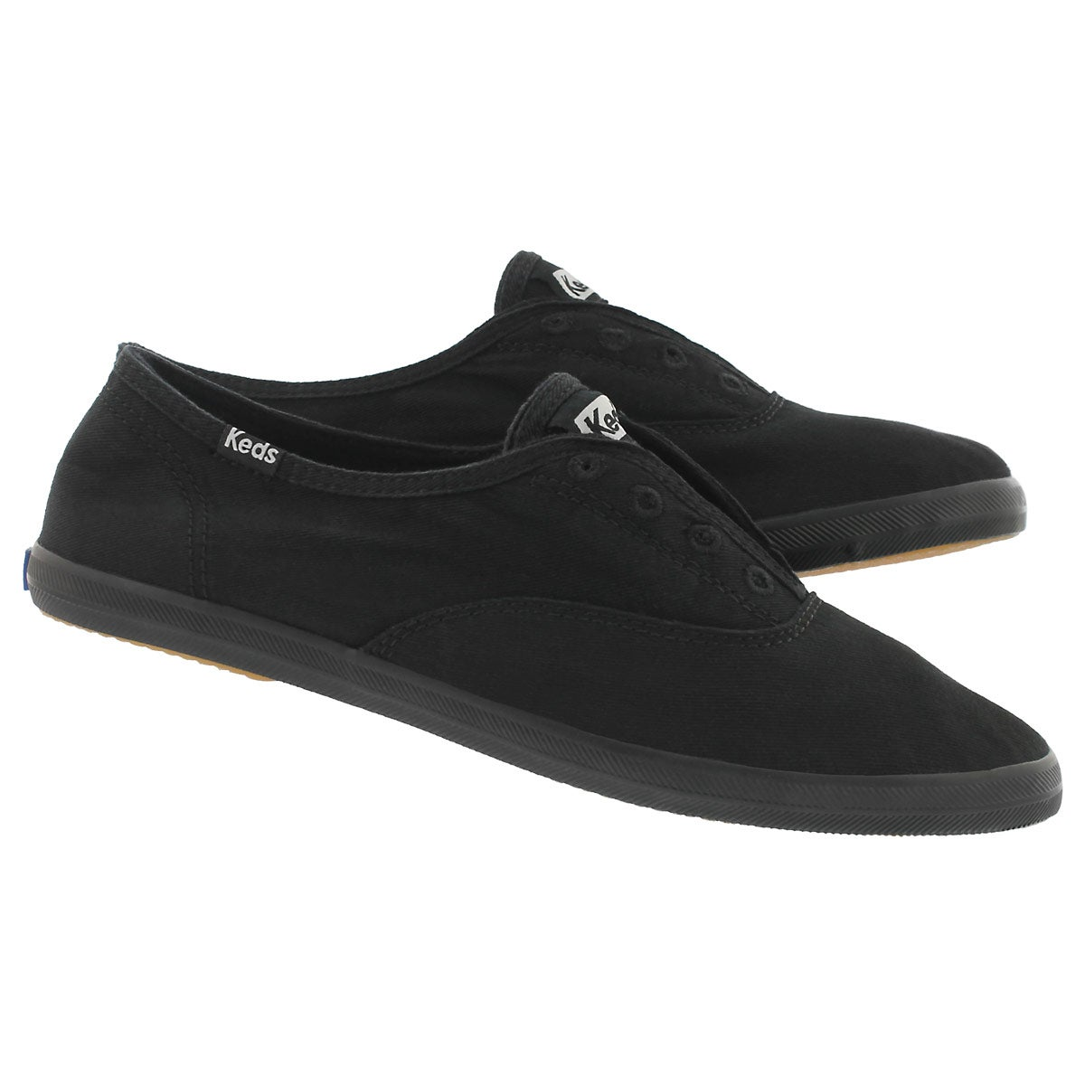 Lds Chillax black/black fashion sneaker