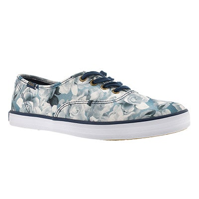 Keds Women's FROST FLORAL blue printed sneakers