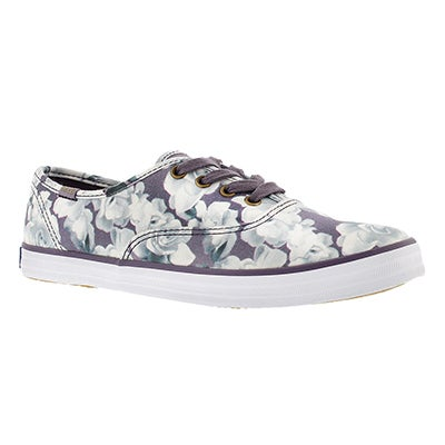 Keds Women's FROST FLORAL purple printed sneakers